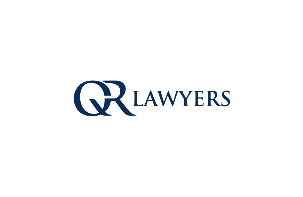"""Sophisticated update to our current logo - Rebrand to """"QR Lawyers"""""""