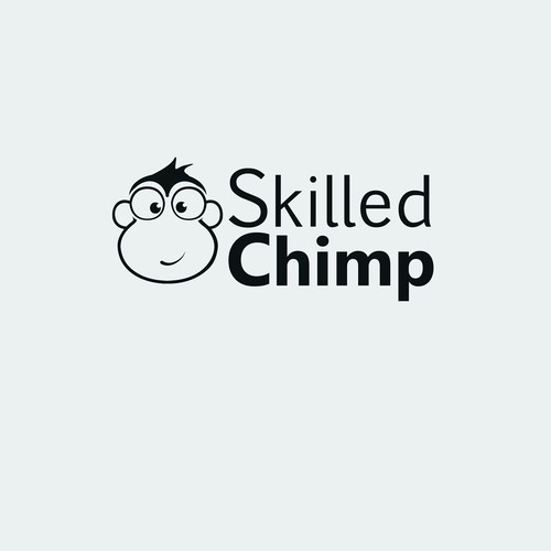 "Create a logo for ""Skilled Chimp"""