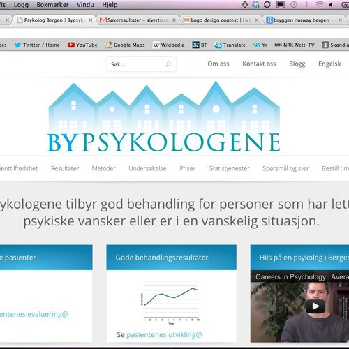 Help Bypsykologene with a new logo