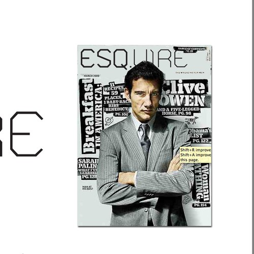 The Esquire Magazine Logo Challenge