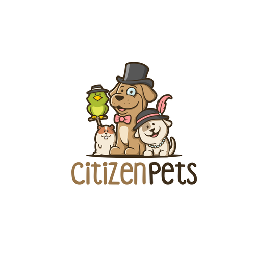 pet logo characters