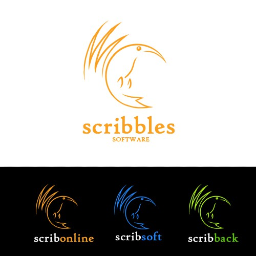 Scribbles Software Logo from scratch
