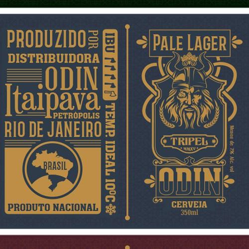Odin Beer Label