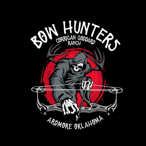 Badass Logo for Hunters