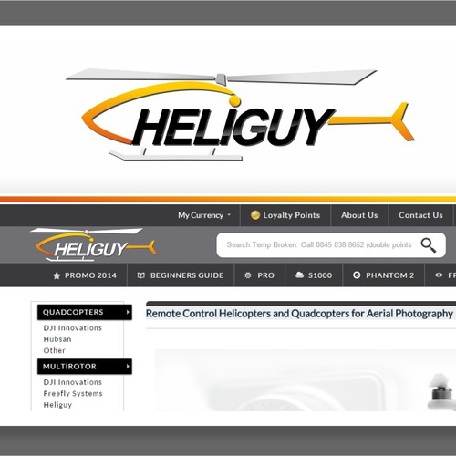Helicopter Logo Design