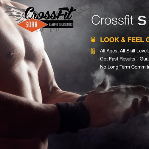 CrossFit SOAR Facebook Banner Ad