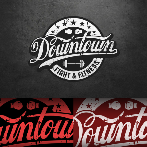 Help Downtown Fight and Fitness with a new logo