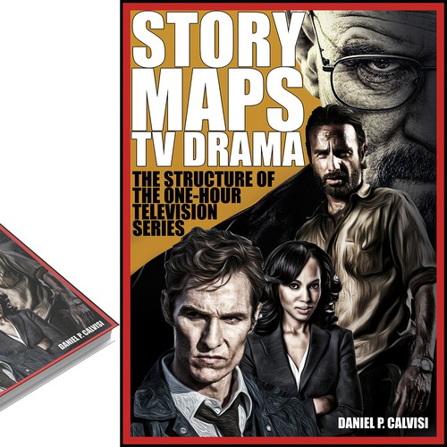 Create a book cover with your take on iconic TV characters