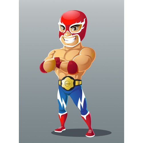Luchadore character