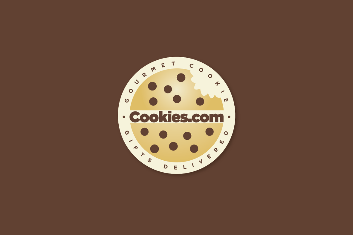 product label for Cookies.com