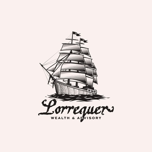 Logo Consept for Lorrenquer, Financial COmpany
