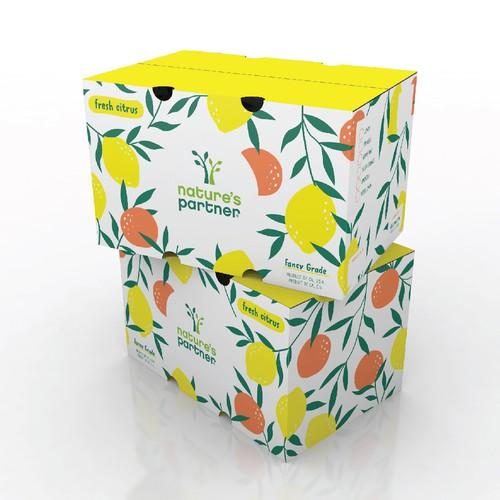 Colorful Citrus Box