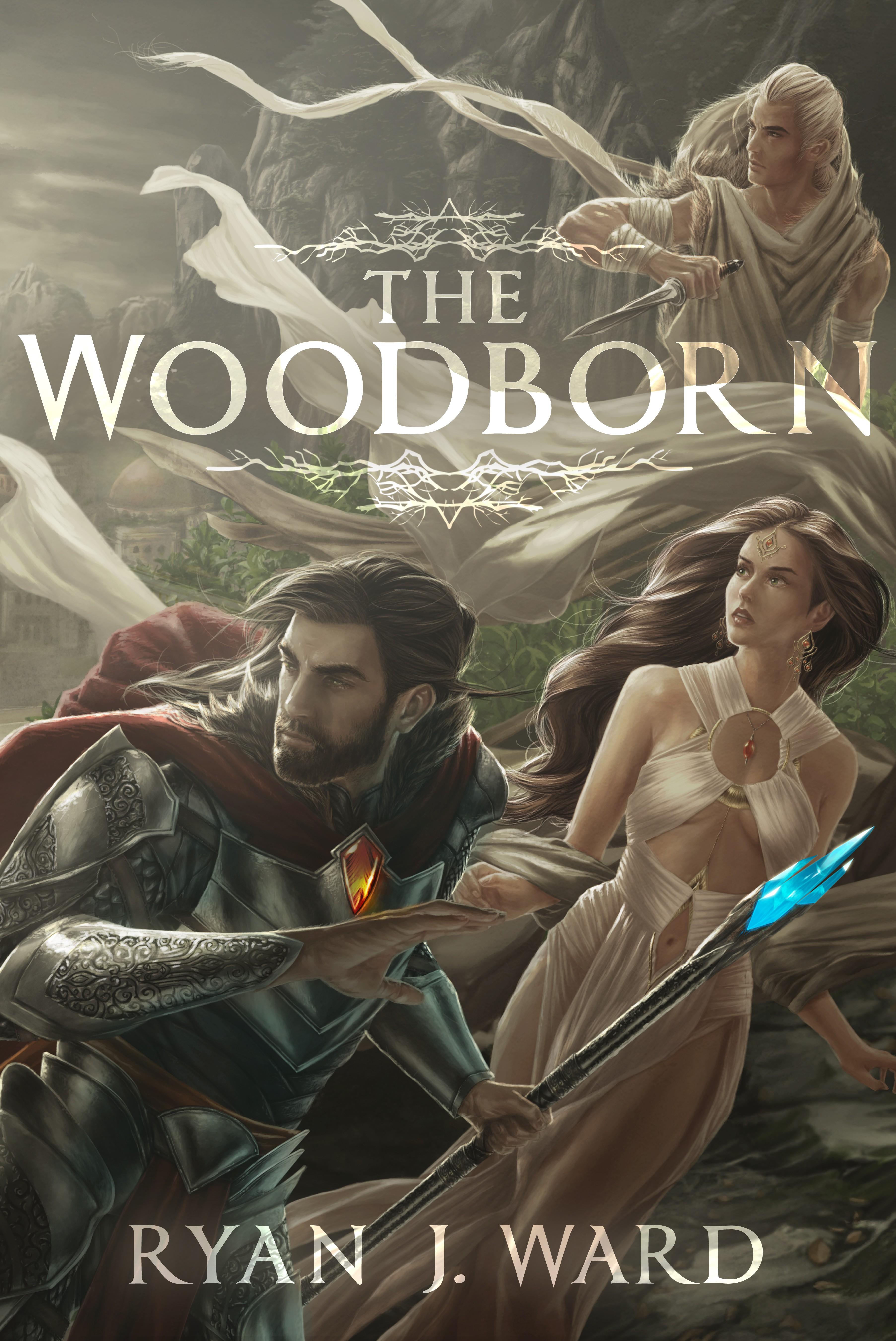 Cover for an Epic fantasy novel