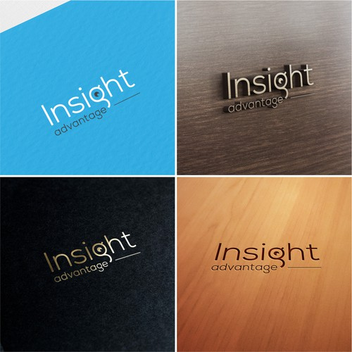 Logo concept for 'Insight Advantage'