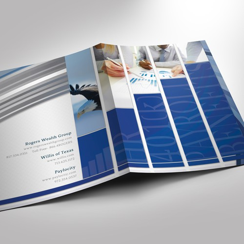 Business collaboration needs a sleek, sophisticated, Presentation Folder!