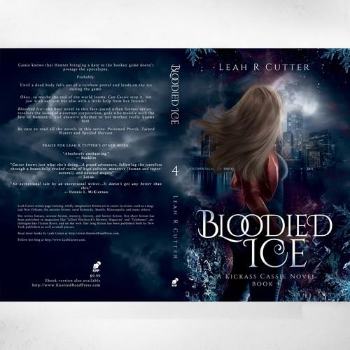 """Bloodied Ice"" - A kickass Cassie novel' by Leah R Cutter"