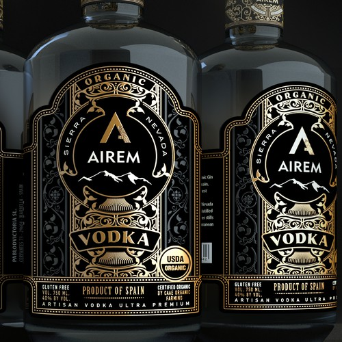 Organic AIREM Vodka