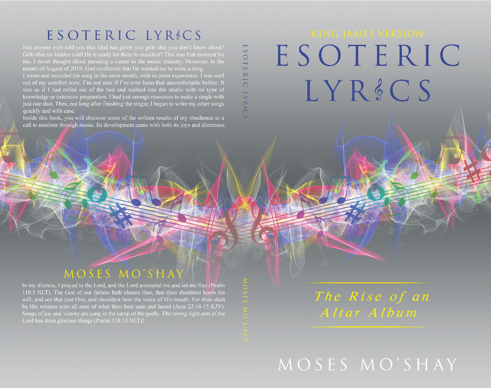 Creative book cover design needed for an up and coming artist in the music industry!