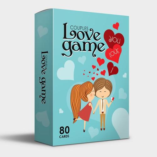 Couple card game | Box Design