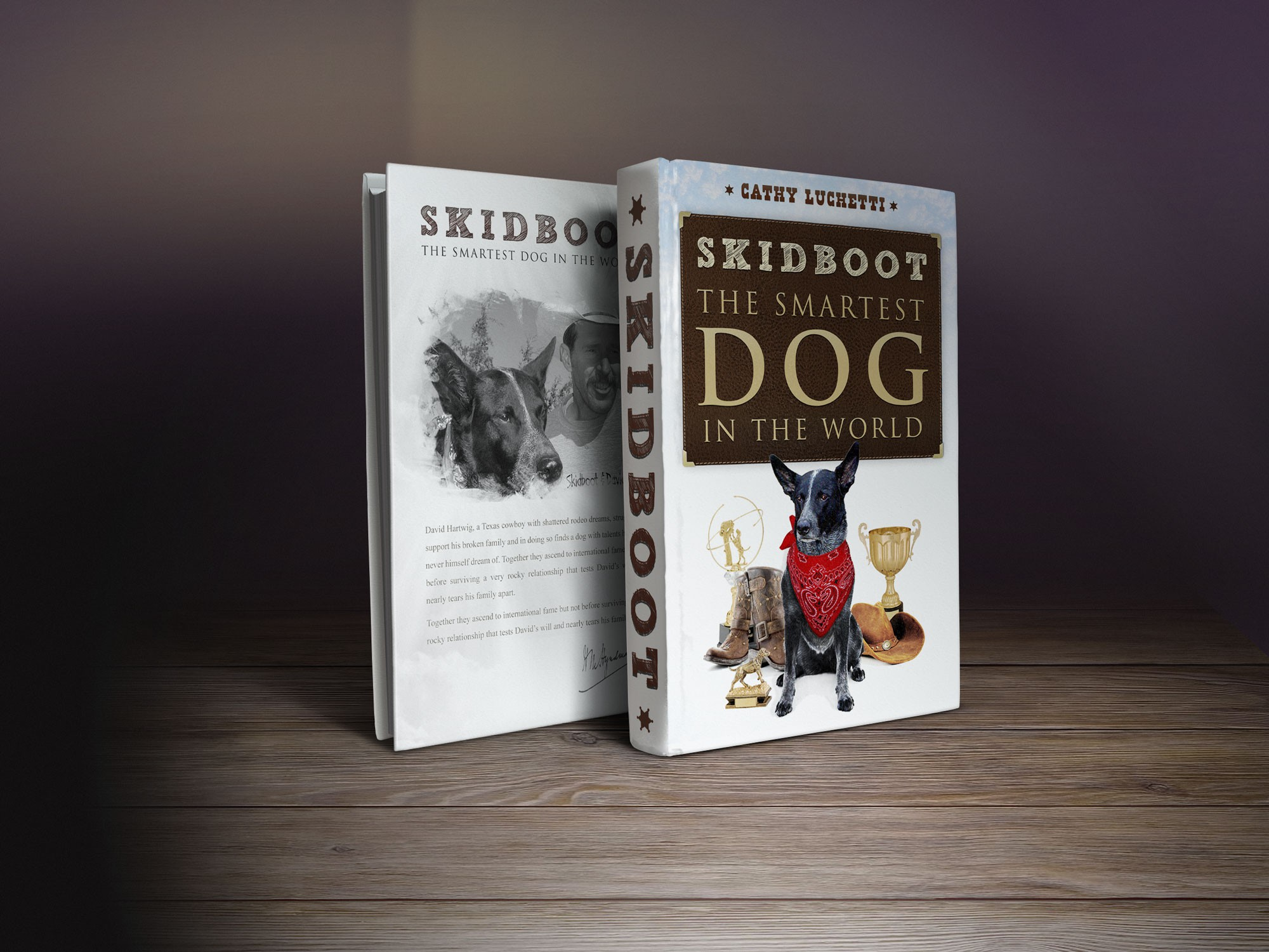 book or magazine cover for Project Skidboot