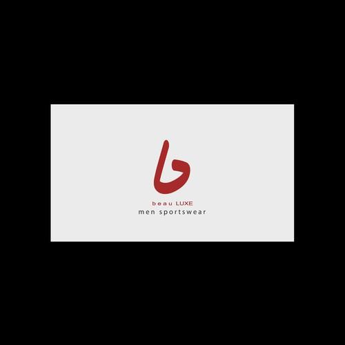 Men Sportswear Logo Design Concept