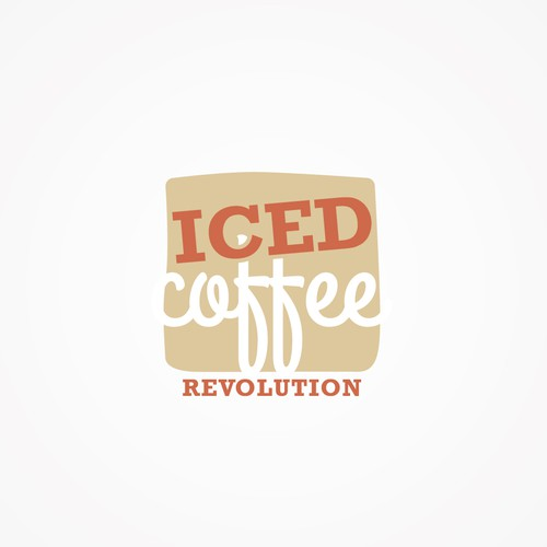 New logo for Iced Coffee Revolution