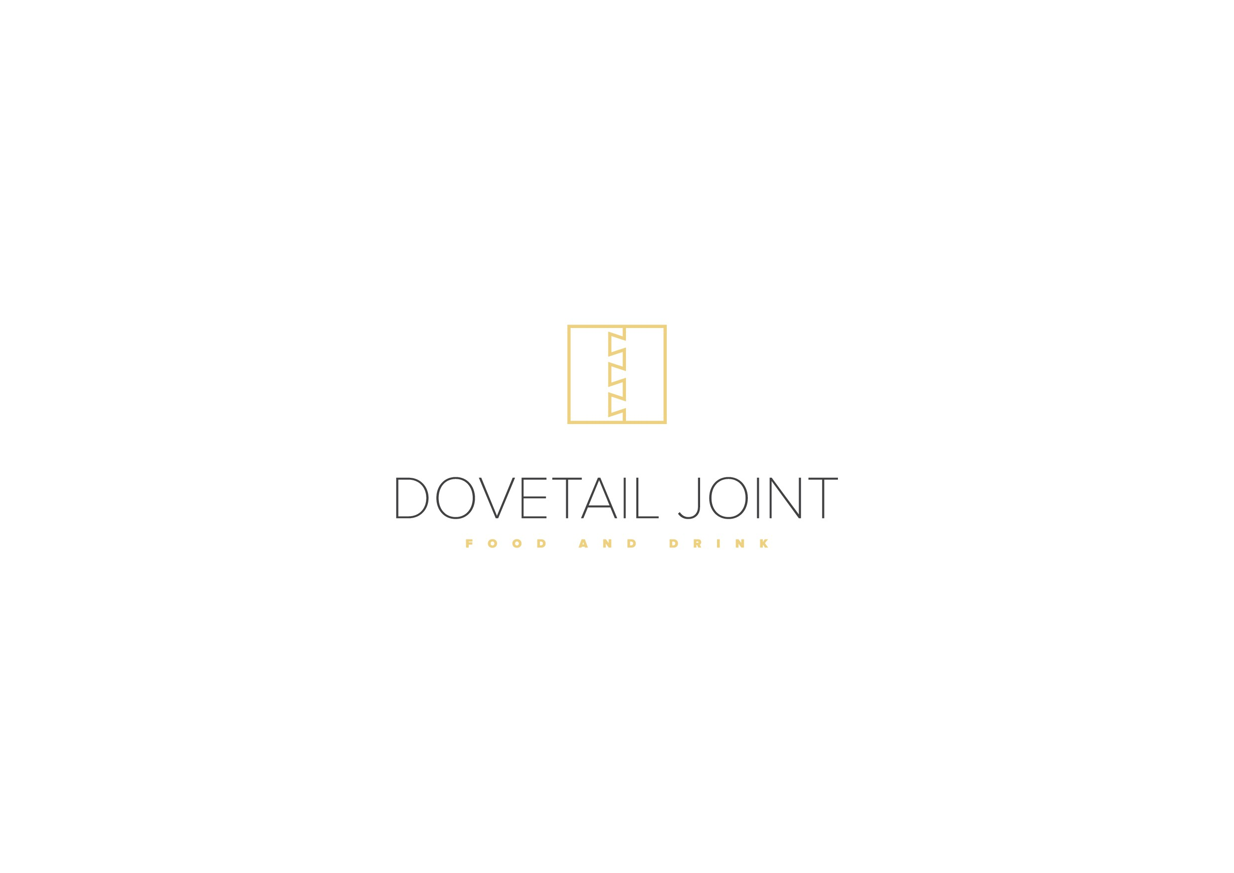 Design a new logo for Dovetail Joint, a high-end dinner house