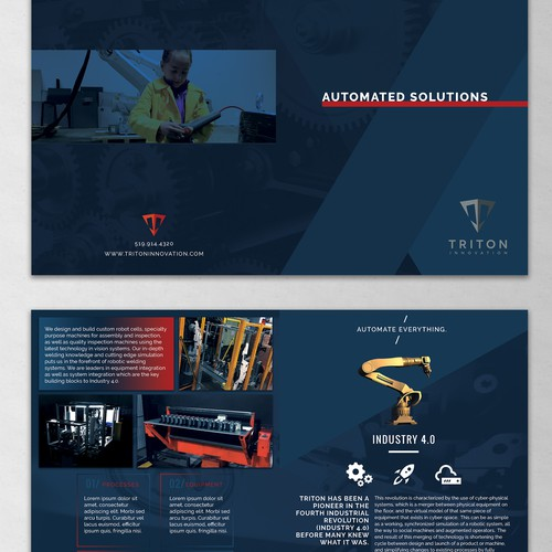 Polished and Professional for Industrial Company
