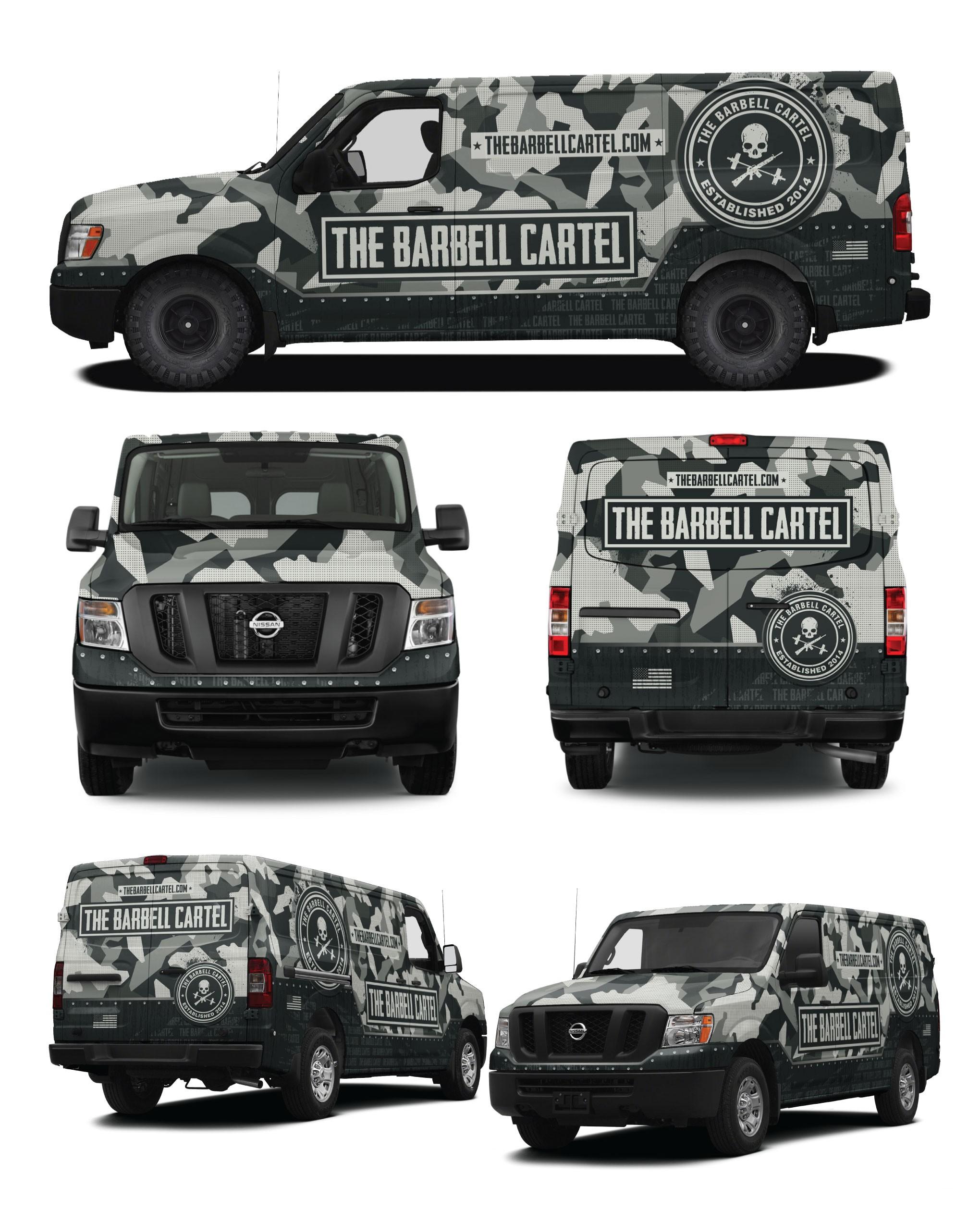 The barbell cartel van