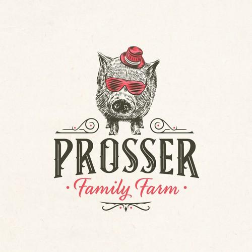 Prosser Fram logo concept