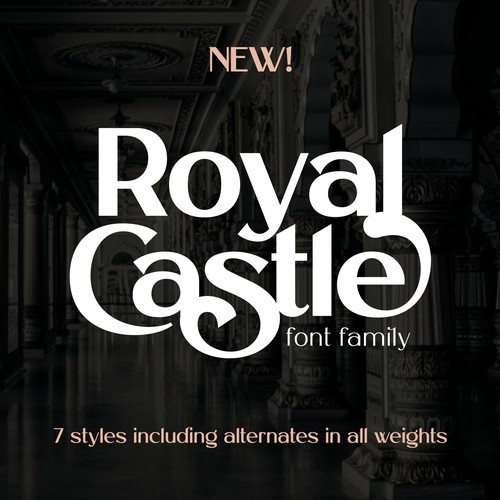 Royal Castle Font Family