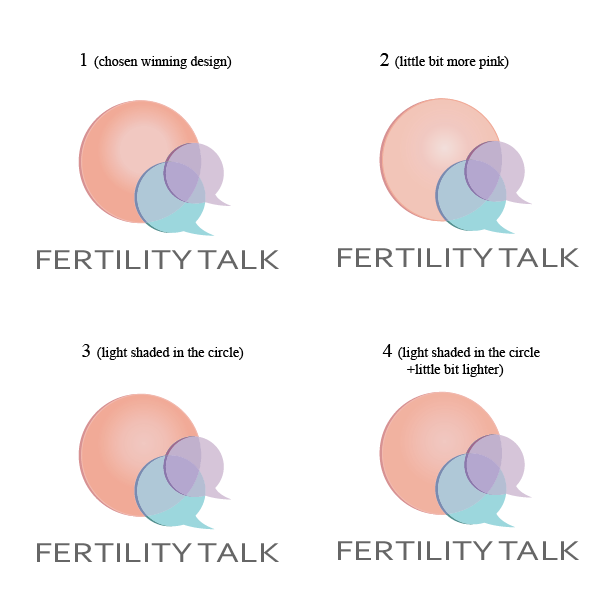 Fertility Talk needs a LOGO! Beautiful, slightly feminine but also empowering. Something women will be drawn to.