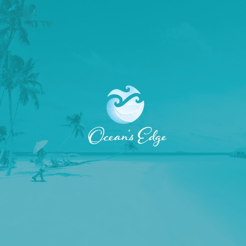 Modern logo for resort in Belize
