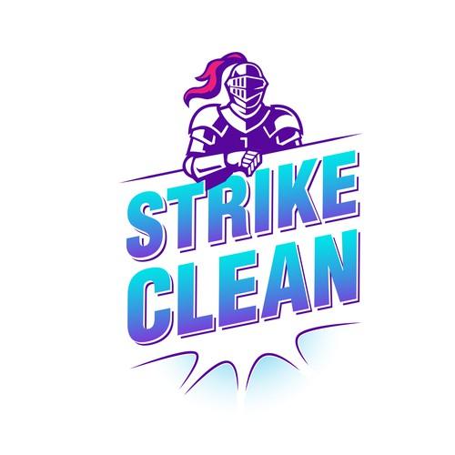 Logotipo para producto der liumpieza y desinfección
