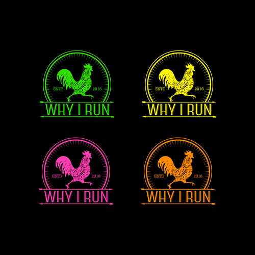 logo for why I run