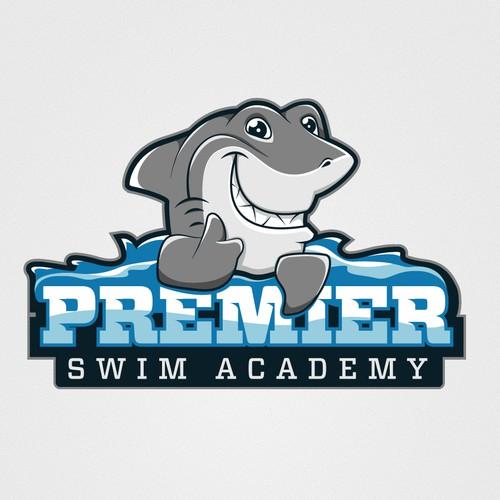 Shark Swim Logo
