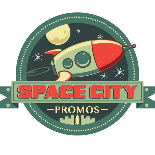 Help Space City Promos with a new logo