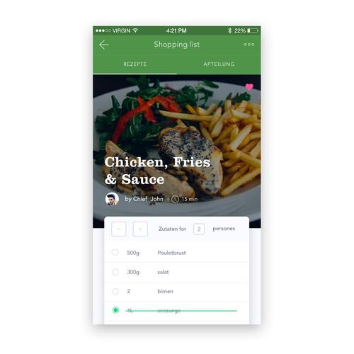 Cooking & Recipe App