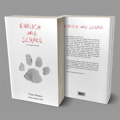 Book design for crime novel