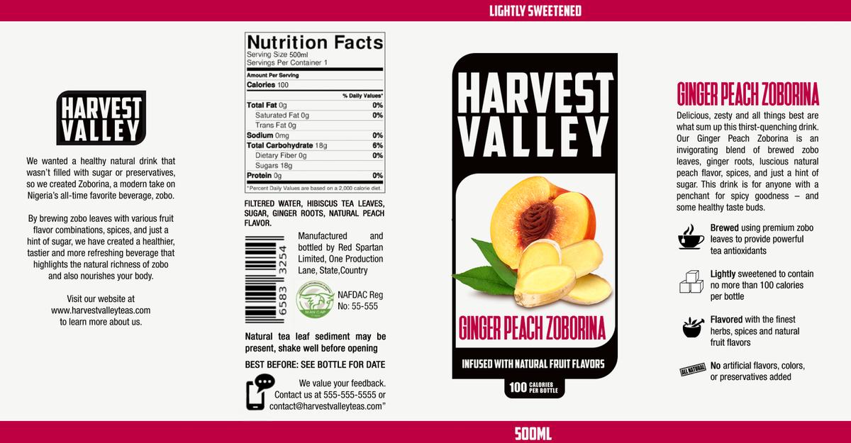 Update on Label Design -- Harvest Valley