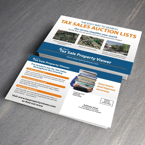 Postcard for Tax Sale Auction Buyers