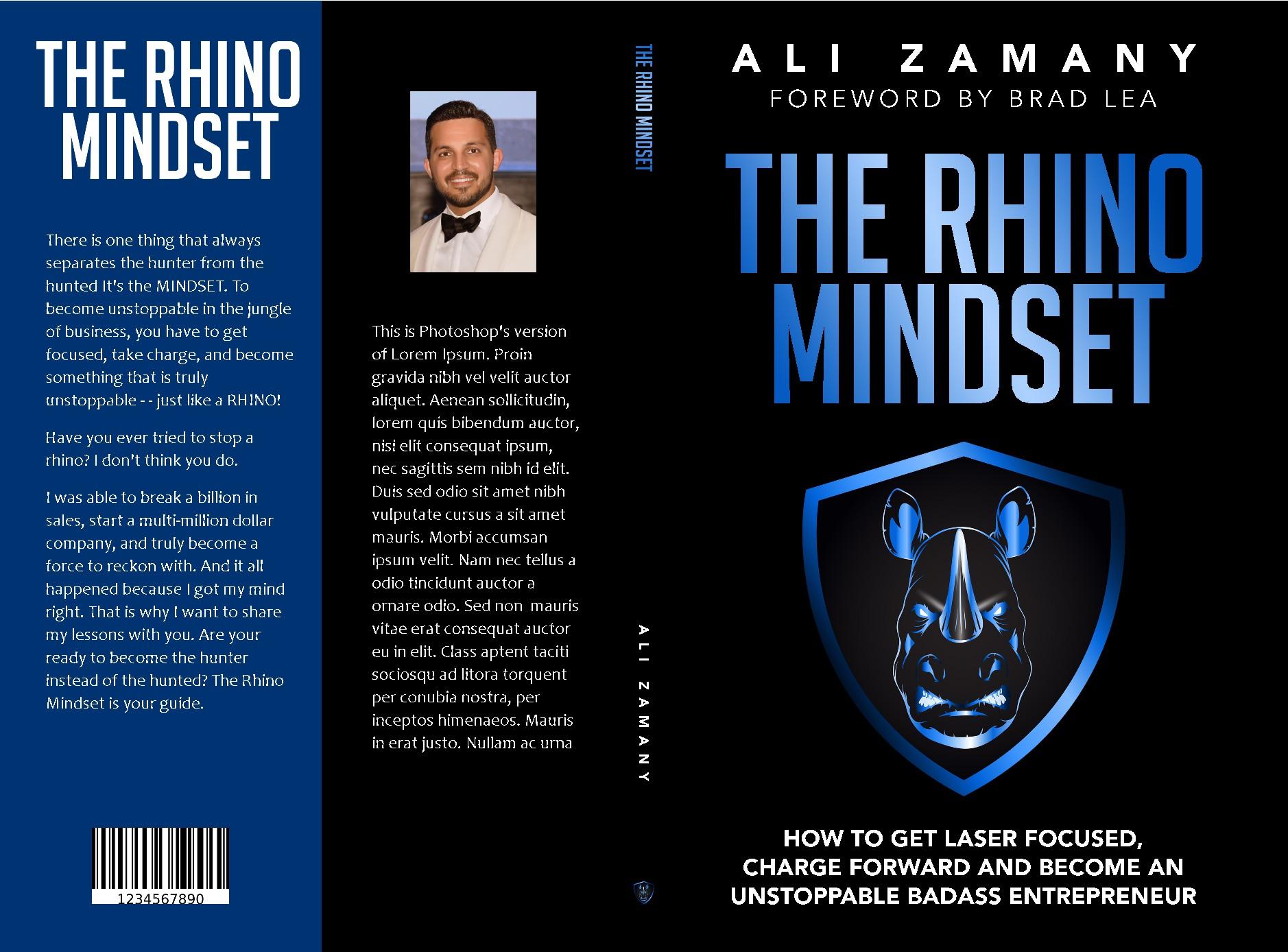 THE RHINO MINDSET book🦏 🦏 🦏