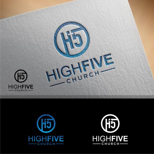 Winning design for High Five Church Company :)
