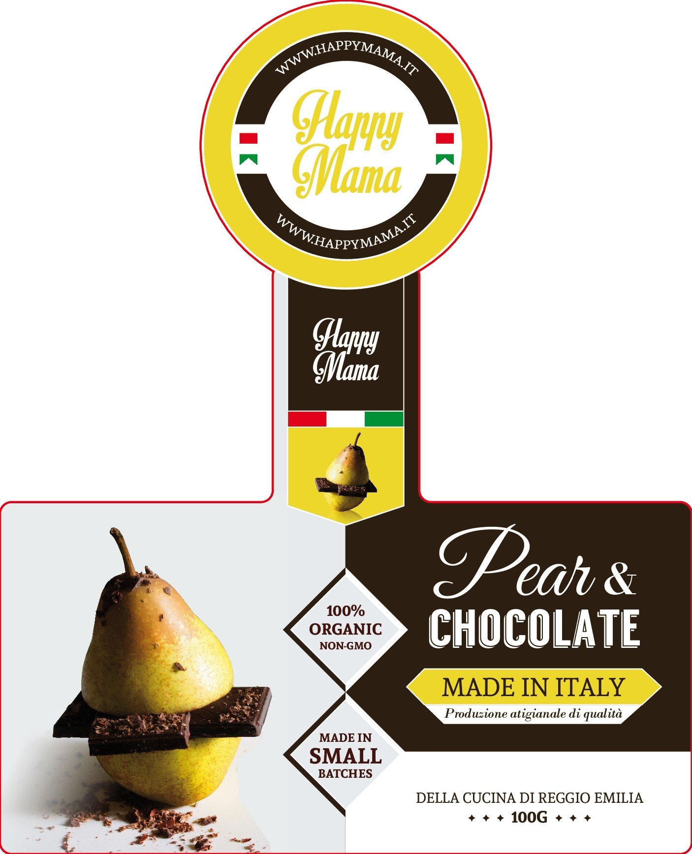 PRODUCT LABEL!!! For the next Nutella-type spread to hit the US market