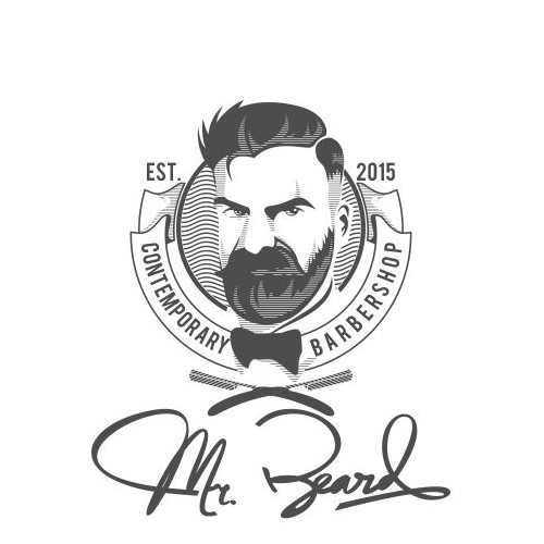 Mr Beard, the most classy man in the world! Barbershop