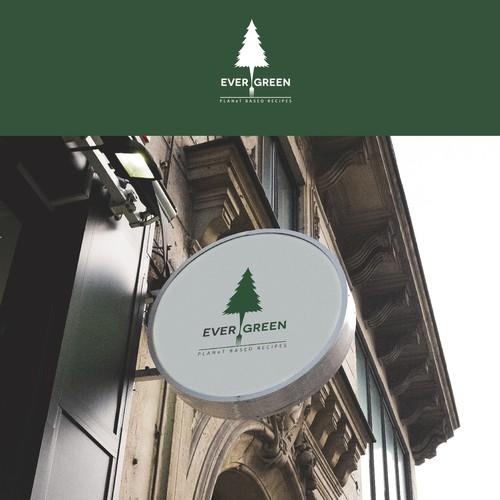 Logo for vegetarian restaurants