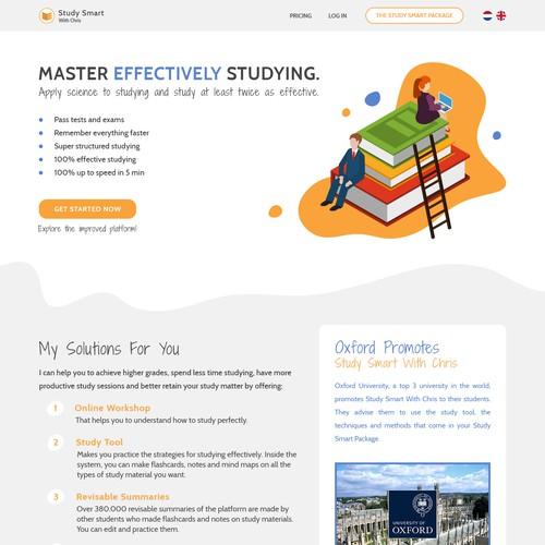 Study Smart - Home Page v1