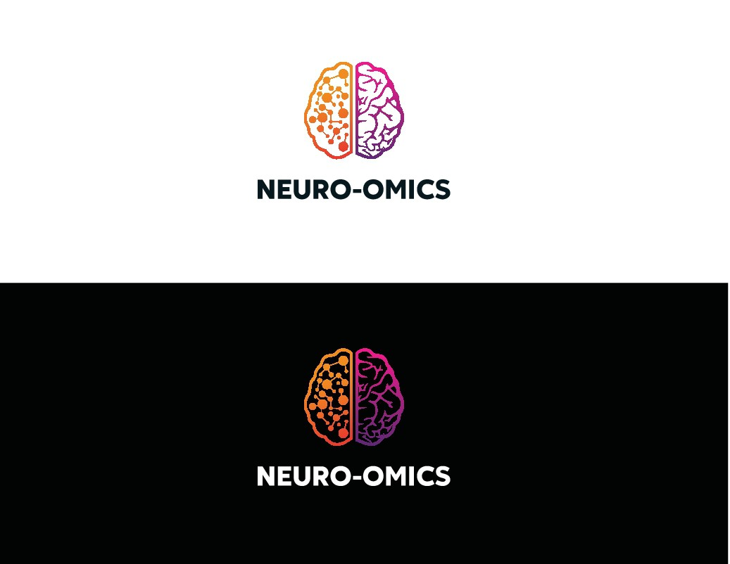 Design a cool science logo for a cutting-edge neuroscience project at Stanford