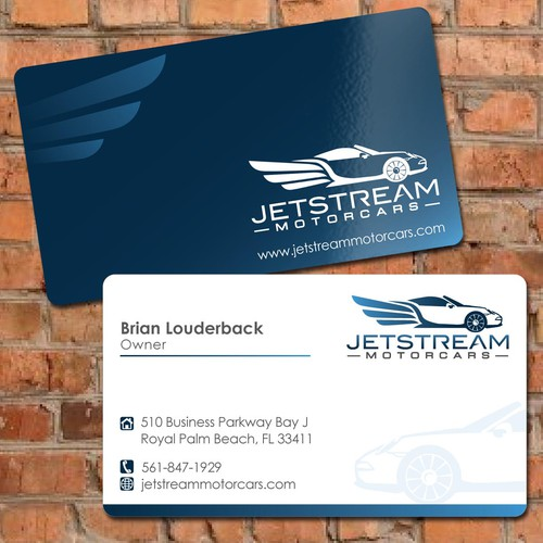 Help Jetstream Motorcars, LLC with a new stationery