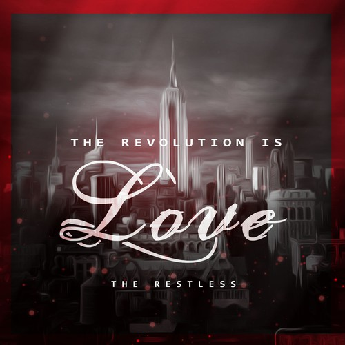 Revolution is love Cd cover design